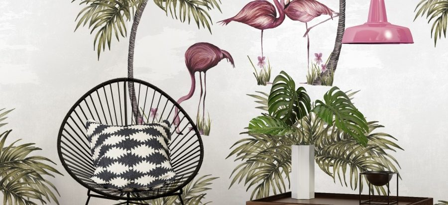 Flamingos - MrWallpaper Perth