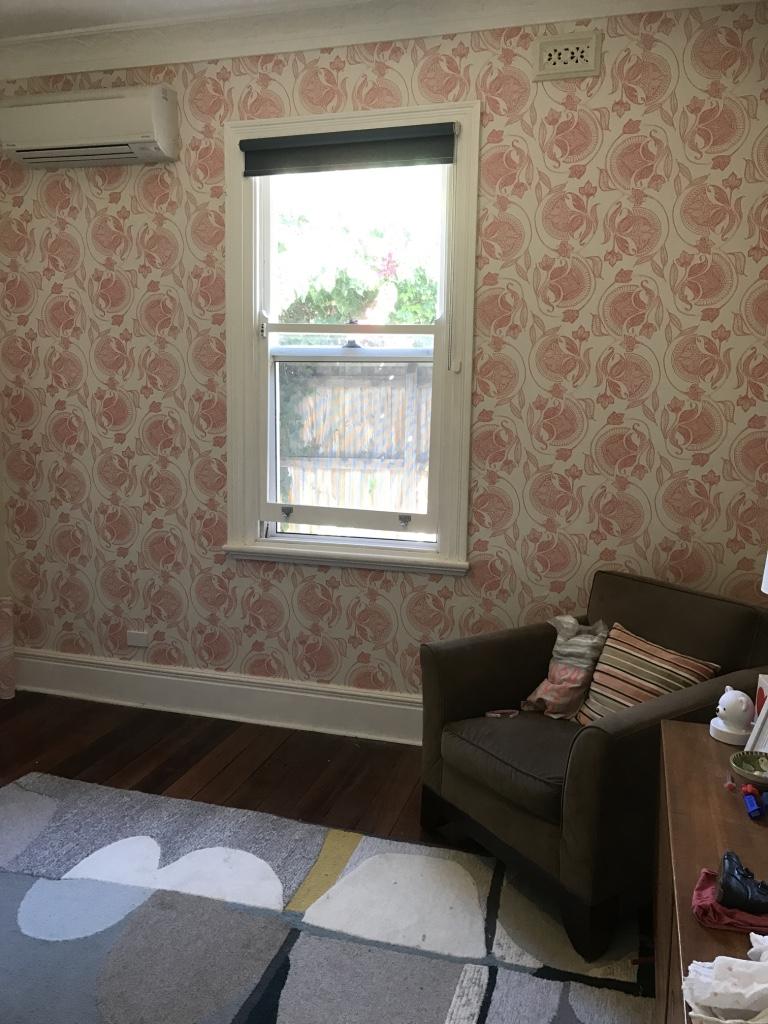Pretty Bedroom by Mr Wallpaper