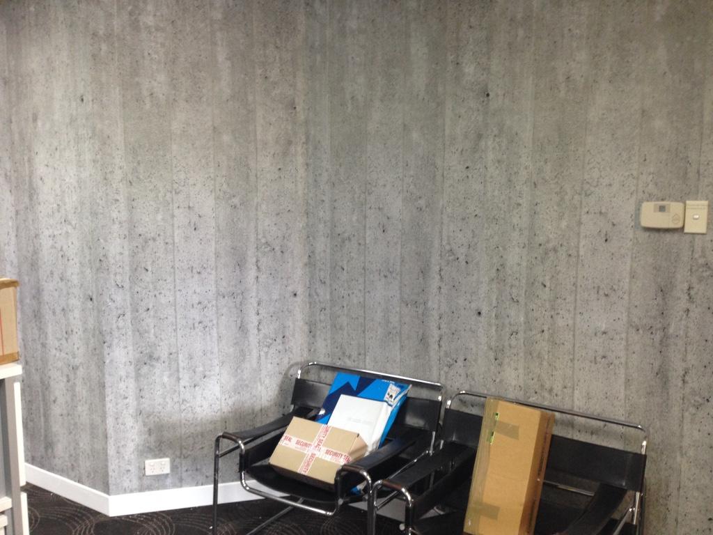 Concrete Reception by Mr Wallpaper