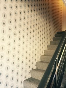 Neat Cuts Up Stairs by Mr Wallpaper